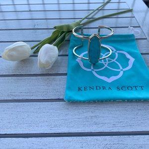 Kendra Scott bracelet with turquoise stone